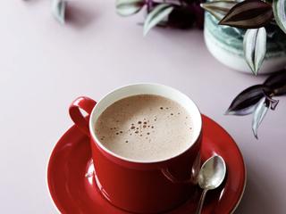 Бархатный кето горячий шоколад.