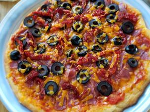 Кето пицца.