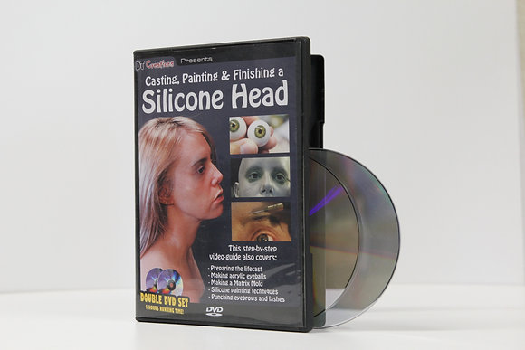 Casting, Painting and Finishing a Silicone Head