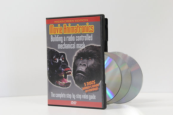 Movie Animatronics - 3 dvd set
