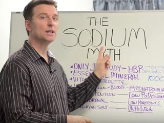 Доктор Эрик Берг говорит: мифы о натрии.