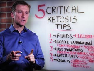 Доктор Эрик Берг. 5 важных кето советов.