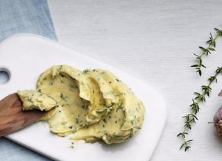 Масло с травами.