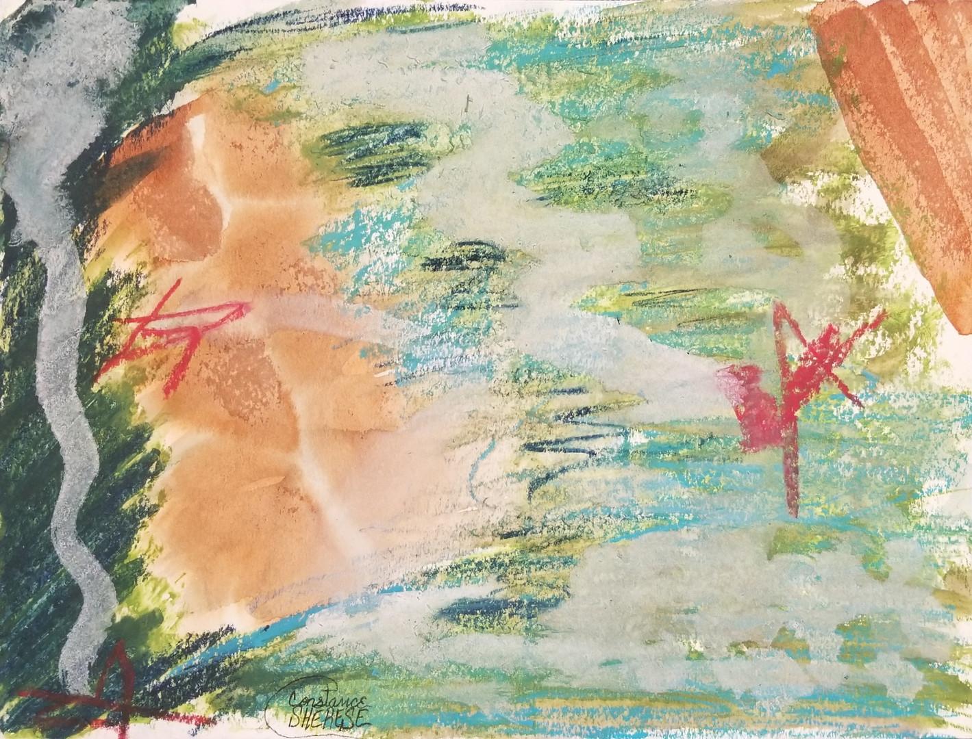 Sky, After Matisse