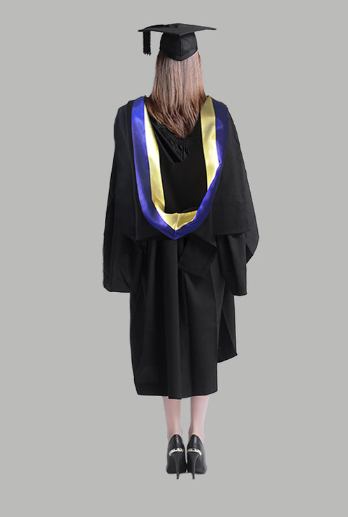 Hire USYD Academic Dress -Bachelor of IT Graduation Gown Se
