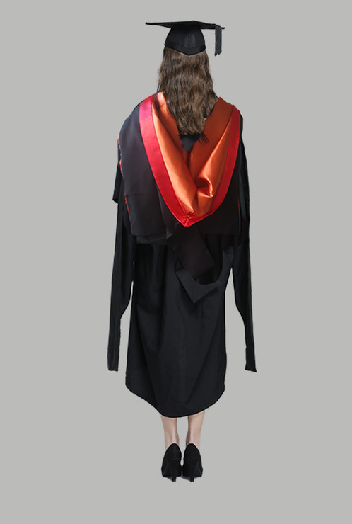 Hire USYD Academic Dress -Master of Management Graduation Gown Set