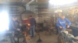 Location d'atelier de forge à St-Raymond