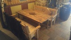 table bois de grange