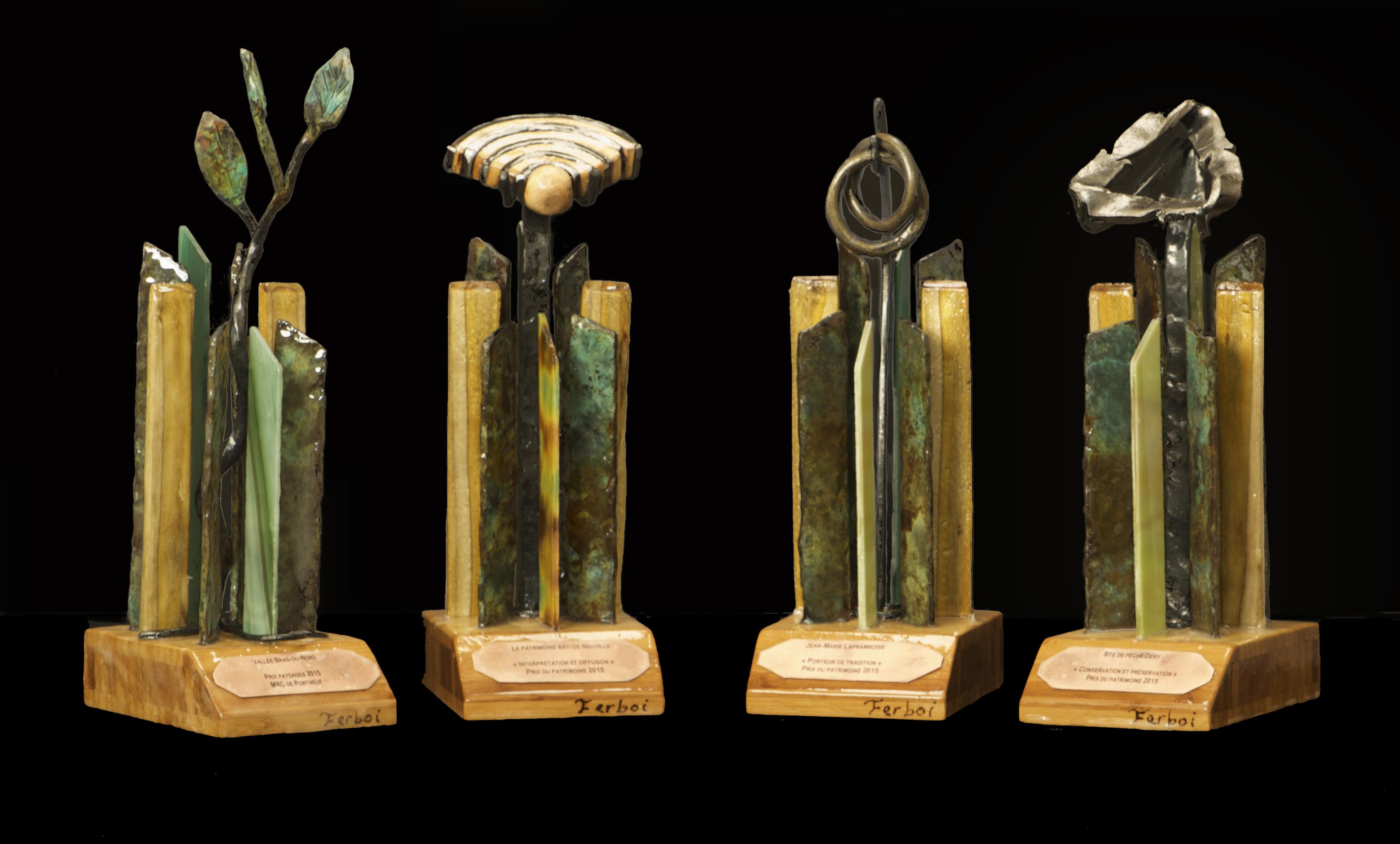 Sculpture prix du patrimoine 2015