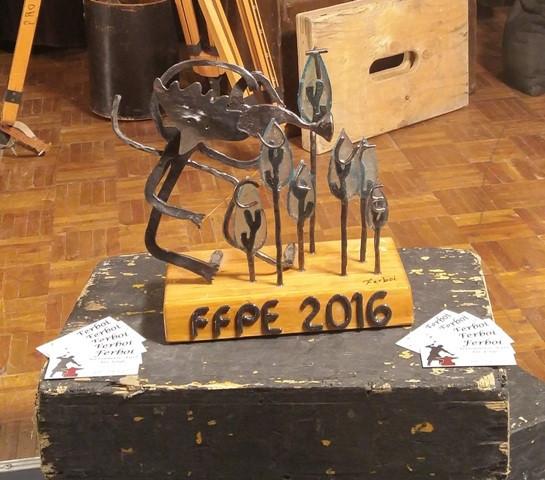 Sculpture FFPE 2016 sur le thème de la culture