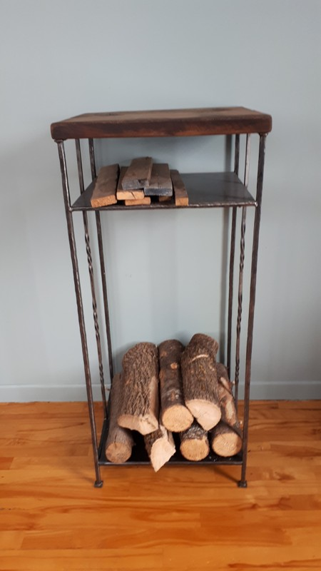 Table rack à bois