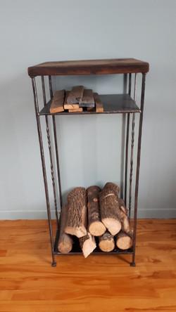 Table rack à bois