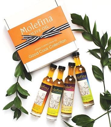 Molefina Good Cook Collection - Four Award-Winning Varieties 100 ML