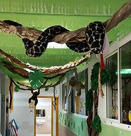 decoració de selva a infantil