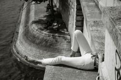 Resting above the Seine