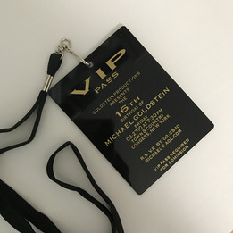 VIP Acrylic Invitation