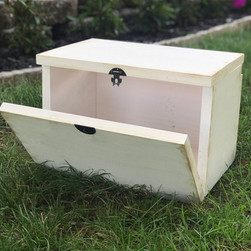 Rustic Card Box (Back)
