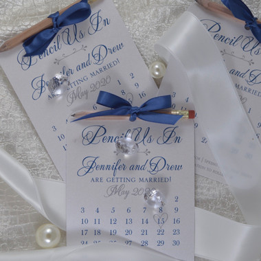 Pencil Us In Save The Dates