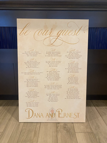 Beauty and the beast inspired stretched canvas