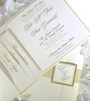 Classic Gold Foil Pocket