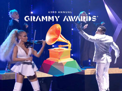 """DaBaby performs """"Rockstar"""" feat. Roddy Rich, Anthony Hamilton, Mapy & """"DaBaby Boomers"""" at The 63rd Annual Grammy Awards  Creative Director: Marselle Washington"""