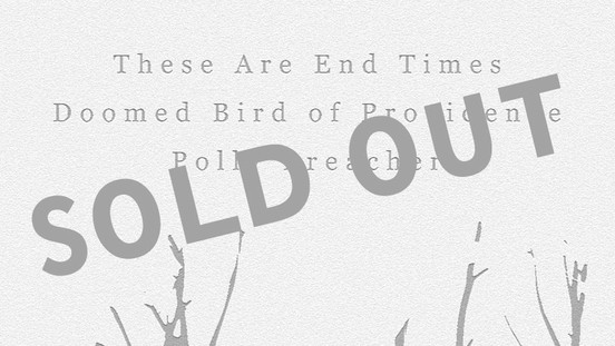 Saturday has SOLD OUT!