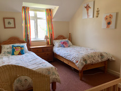 Hay twin bedroom