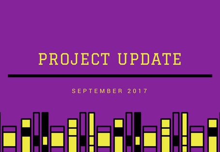 Project Update September 2017