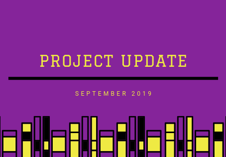 Project Updates September 2019