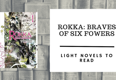 Light Novels to Read: Rokka