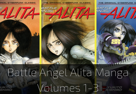 Battle Angel Alita Manga