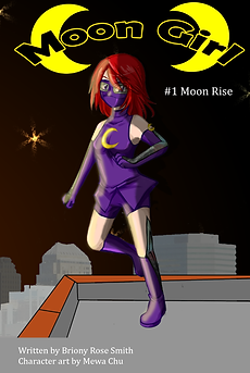 Moon Girl 1: Mon Rise Cover