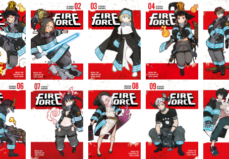 Fire Force vols 1-10