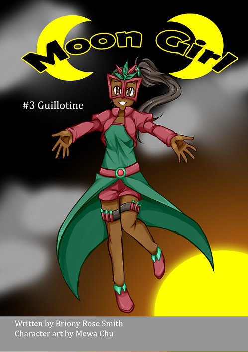 Moon Girl 3: Guillotine *Signed*
