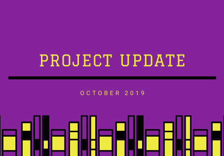 Project Updates October 2019