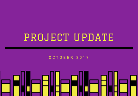 Project Update October 2017