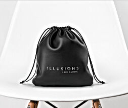 Illusions Hair Clinic bag