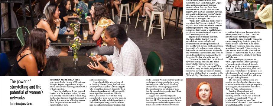 Saigon Oi magazine article