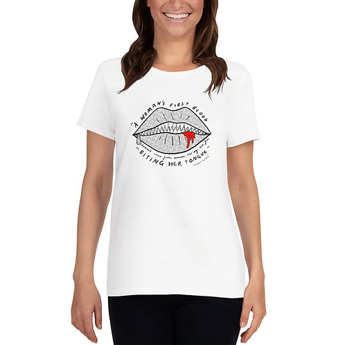 A woman's first blood T-shirt - Special Edition