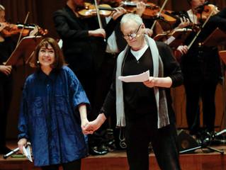 Jennifer & Hilton McRae in 'Pericles' at The Berwaldhallen in January 2015
