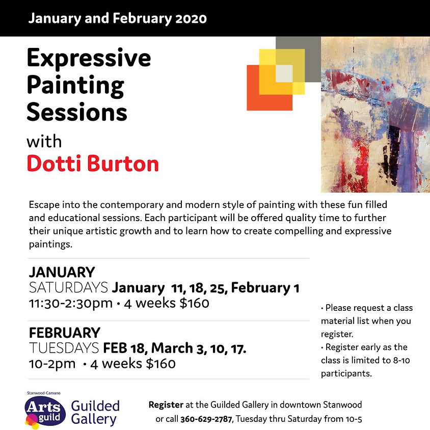 EXPRESSIVE PAINTING SESSIONS