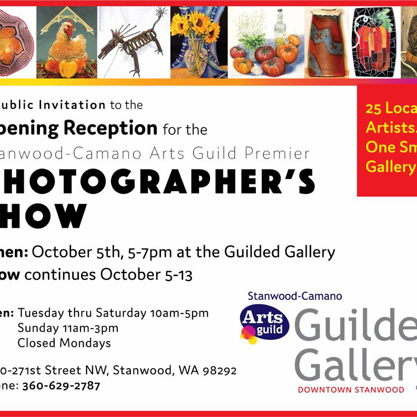 OCTOBER PHOTOGRAPHERS SHOW