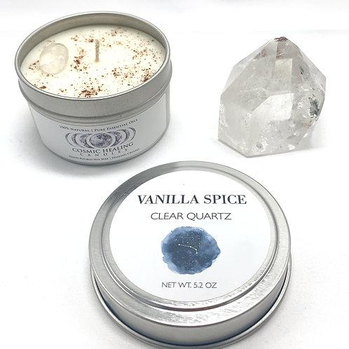 Vanilla Spice   Clear Quartz