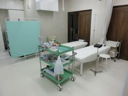 処置室(点滴ベッド)