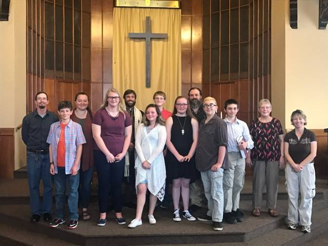 confirmands and new members