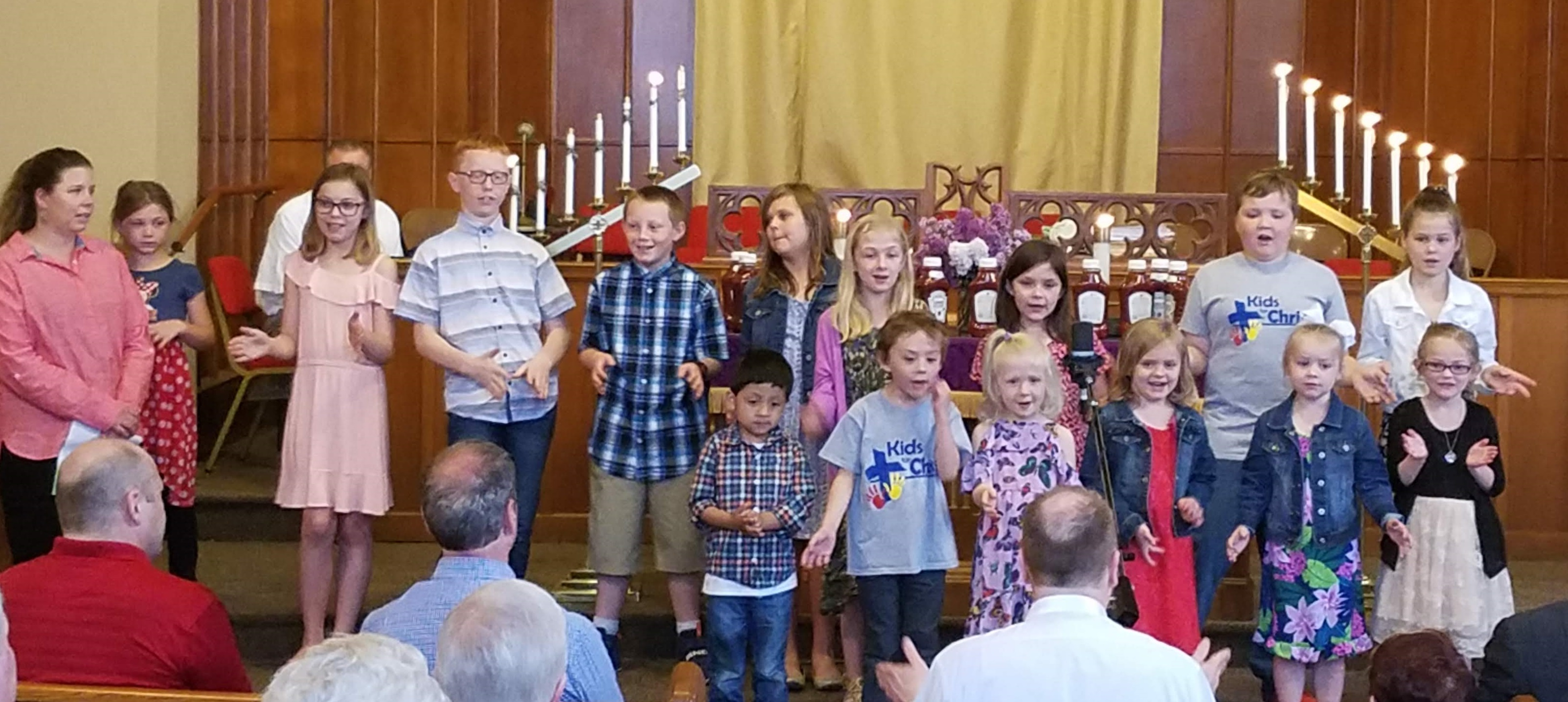 kids singing may 2019