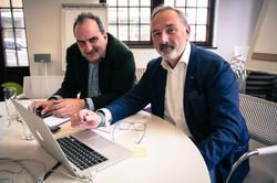 Destria Partners team meeting