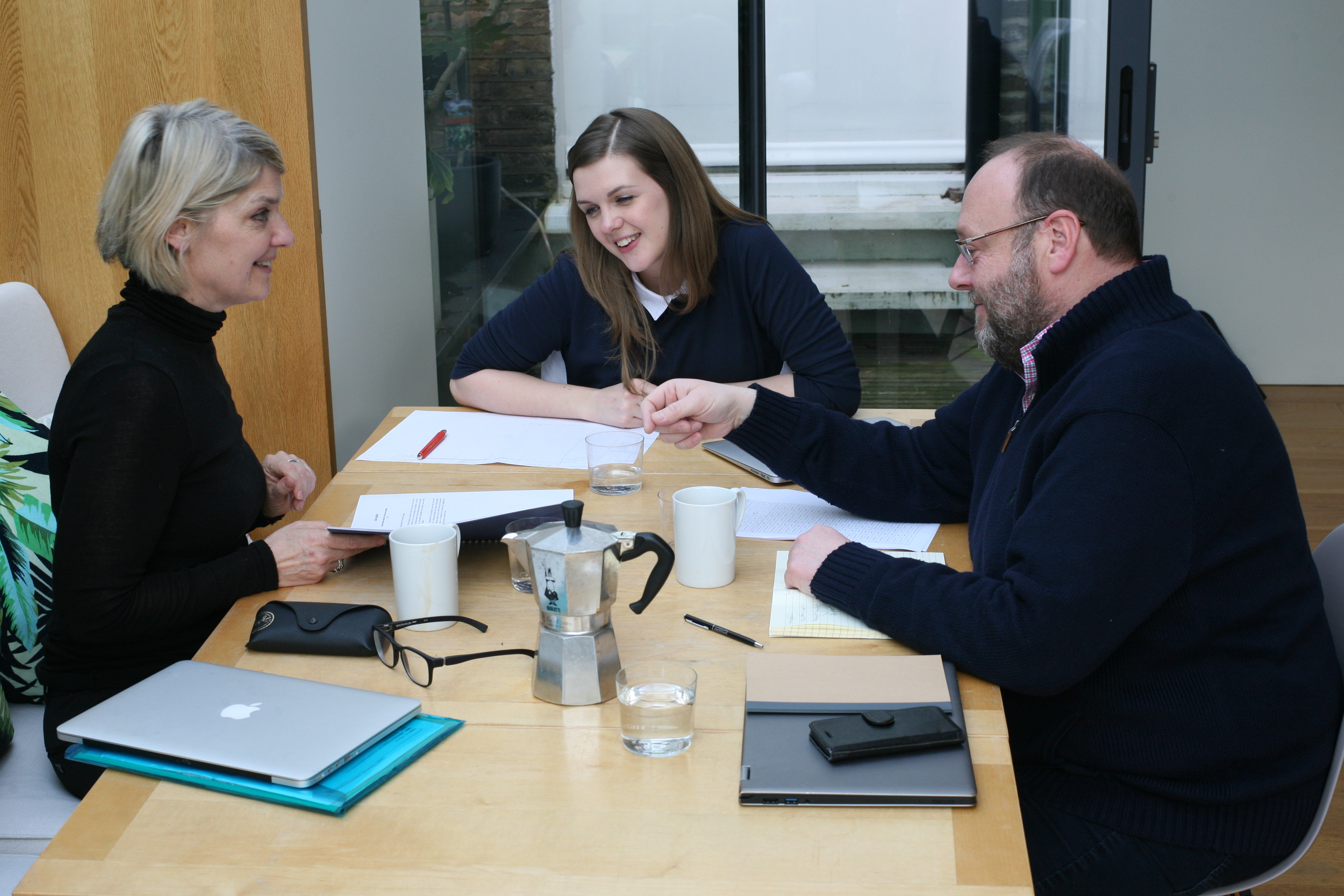 Clare Richmond Associates Team Meet
