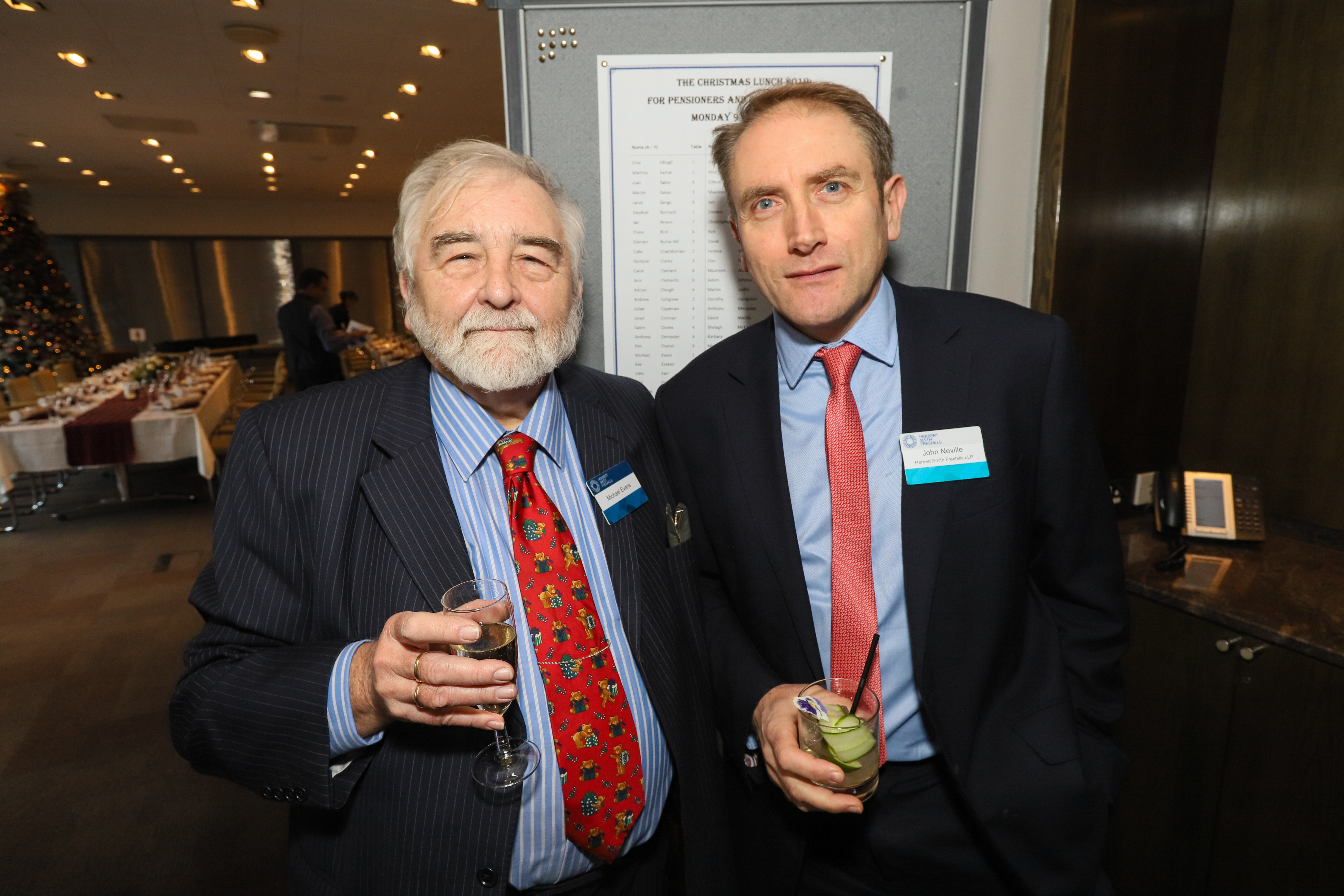 HSF - pensionsers' lunch