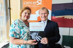 Cancer52 - parliamentary reception